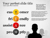 Presentation Templates: Team Crossword Presentation Concept #03199