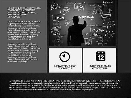 Gray Business Presentation Template, Slide 10, 03201, Presentation Templates — PoweredTemplate.com