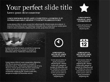 Gray Business Presentation Template, Slide 13, 03201, Presentation Templates — PoweredTemplate.com