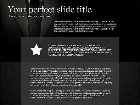 Gray Business Presentation Template, Slide 14, 03201, Presentation Templates — PoweredTemplate.com