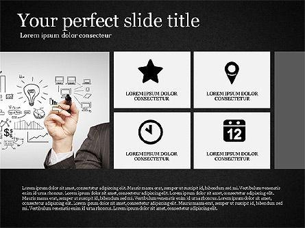 Gray Business Presentation Template, Slide 16, 03201, Presentation Templates — PoweredTemplate.com