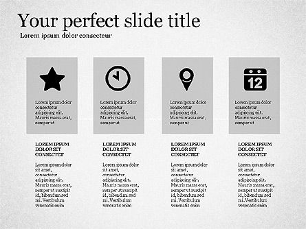 Gray Business Presentation Template, Slide 3, 03201, Presentation Templates — PoweredTemplate.com