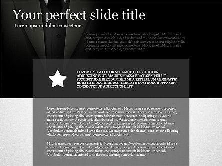 Gray Business Presentation Template, Slide 6, 03201, Presentation Templates — PoweredTemplate.com