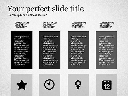Gray Business Presentation Template, Slide 7, 03201, Presentation Templates — PoweredTemplate.com