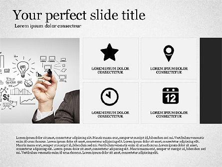 Gray Business Presentation Template, Slide 8, 03201, Presentation Templates — PoweredTemplate.com