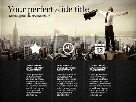 Gray Business Presentation Template, Slide 9, 03201, Presentation Templates — PoweredTemplate.com
