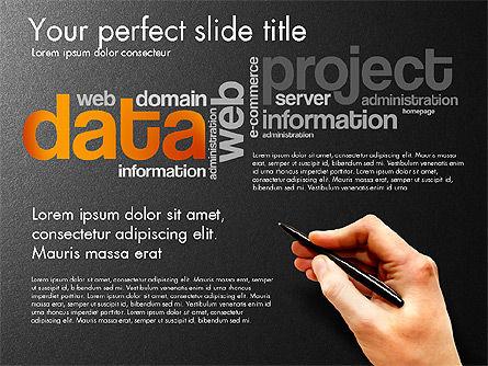 Content Manager Presentation Concept, Slide 12, 03203, Presentation Templates — PoweredTemplate.com