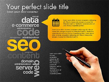 Content Manager Presentation Concept, Slide 14, 03203, Presentation Templates — PoweredTemplate.com