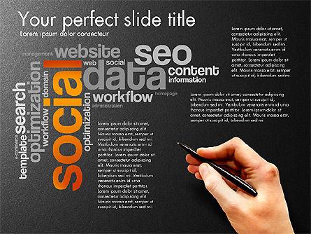 Content Manager Presentation Concept, Slide 16, 03203, Presentation Templates — PoweredTemplate.com