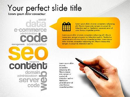 Content Manager Presentation Concept, Slide 6, 03203, Presentation Templates — PoweredTemplate.com