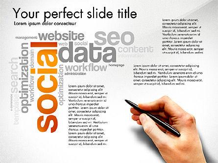 Content Manager Presentation Concept, Slide 8, 03203, Presentation Templates — PoweredTemplate.com