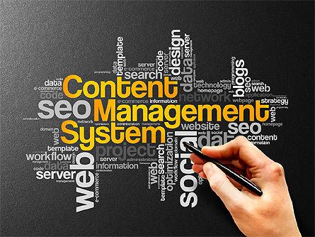 Content Manager Presentation Concept, Slide 9, 03203, Presentation Templates — PoweredTemplate.com
