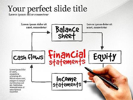 Business Models: Diagram Laporan Keuangan #03207