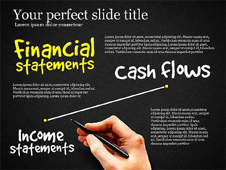 Diagram Of Financial Statement, Slide 10, 03207, Business Models — PoweredTemplate.com