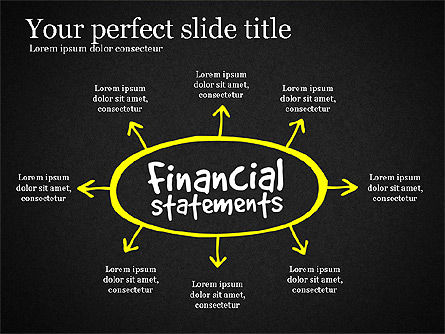 Diagram Of Financial Statement, Slide 11, 03207, Business Models — PoweredTemplate.com