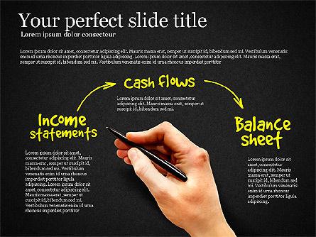 Diagram Of Financial Statement, Slide 12, 03207, Business Models — PoweredTemplate.com