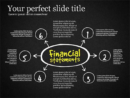 Diagram Of Financial Statement, Slide 14, 03207, Business Models — PoweredTemplate.com