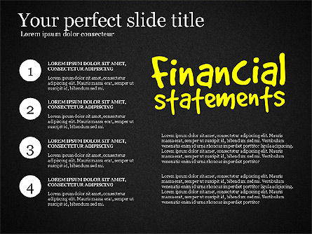 Diagram Of Financial Statement, Slide 16, 03207, Business Models — PoweredTemplate.com