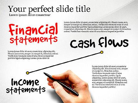 Diagram Of Financial Statement, Slide 2, 03207, Business Models — PoweredTemplate.com