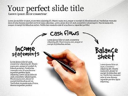 Diagram Of Financial Statement, Slide 4, 03207, Business Models — PoweredTemplate.com
