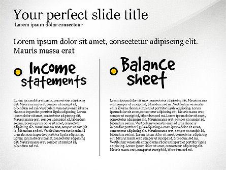 Diagram Of Financial Statement, Slide 5, 03207, Business Models — PoweredTemplate.com