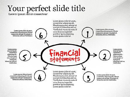 Diagram Of Financial Statement, Slide 6, 03207, Business Models — PoweredTemplate.com