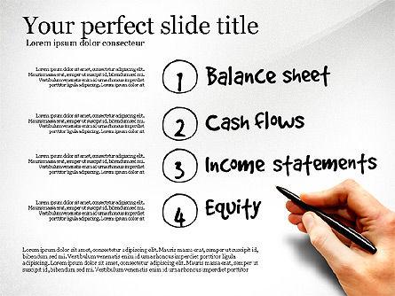 Diagram Of Financial Statement, Slide 7, 03207, Business Models — PoweredTemplate.com