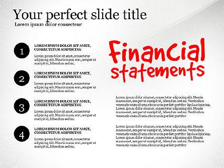Diagram Of Financial Statement, Slide 8, 03207, Business Models — PoweredTemplate.com
