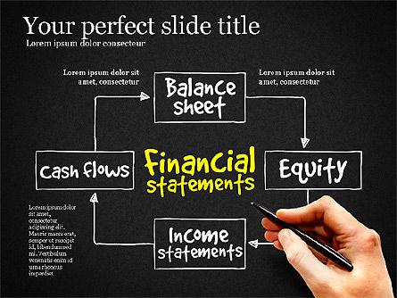 Diagram Of Financial Statement, Slide 9, 03207, Business Models — PoweredTemplate.com