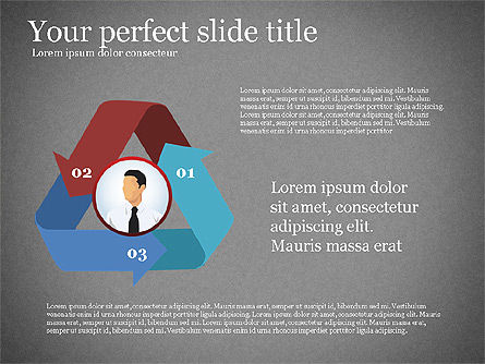 Business Presentation Infographic Toolbox, Slide 10, 03208, Infographics — PoweredTemplate.com