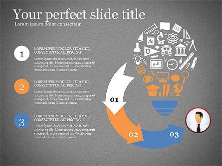 Business Presentation Infographic Toolbox, Slide 11, 03208, Infographics — PoweredTemplate.com