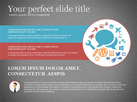 Business Presentation Infographic Toolbox, Slide 15, 03208, Infographics — PoweredTemplate.com
