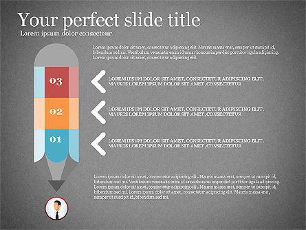 Business Presentation Infographic Toolbox, Slide 16, 03208, Infographics — PoweredTemplate.com