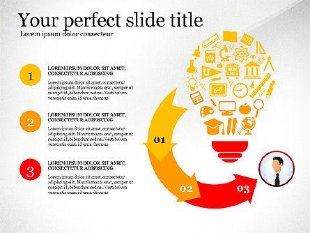 Business Presentation Infographic Toolbox, Slide 3, 03208, Infographics — PoweredTemplate.com