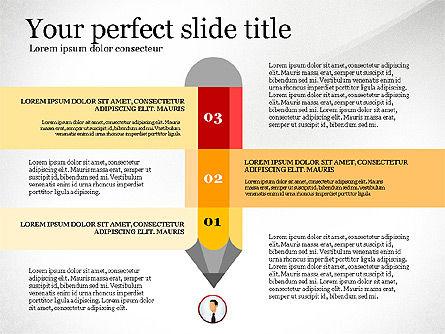 Business Presentation Infographic Toolbox, Slide 4, 03208, Infographics — PoweredTemplate.com