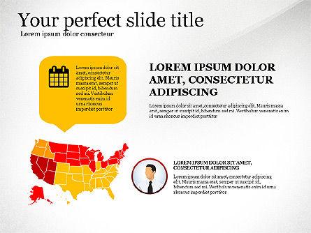 Business Presentation Infographic Toolbox, Slide 5, 03208, Infographics — PoweredTemplate.com