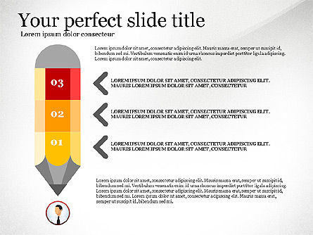 Business Presentation Infographic Toolbox, Slide 8, 03208, Infographics — PoweredTemplate.com
