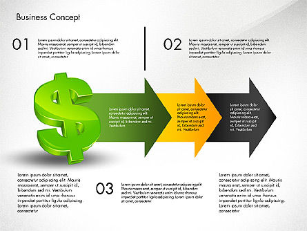 Financial Process Stages and Options, Slide 7, 03209, Process Diagrams — PoweredTemplate.com