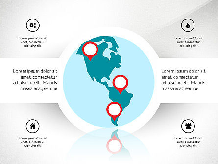 Shapes: Travel formas para PowerPoint #03210