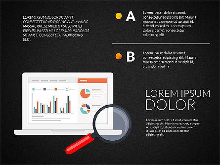 Marketing and Business Shapes, Slide 11, 03211, Shapes — PoweredTemplate.com