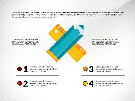 Marketing and Business Shapes, Slide 8, 03211, Shapes — PoweredTemplate.com