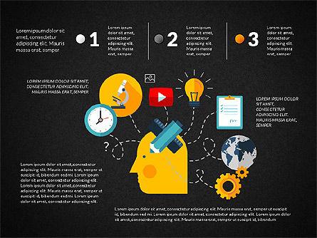 Marketing and Business Shapes, Slide 9, 03211, Shapes — PoweredTemplate.com