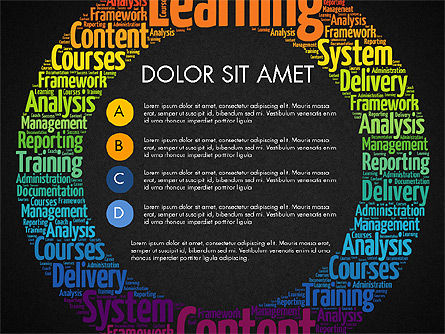 Learning Presentation Concept, Slide 11, 03212, Education Charts and Diagrams — PoweredTemplate.com