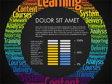 Learning Presentation Concept, Slide 15, 03212, Education Charts and Diagrams — PoweredTemplate.com