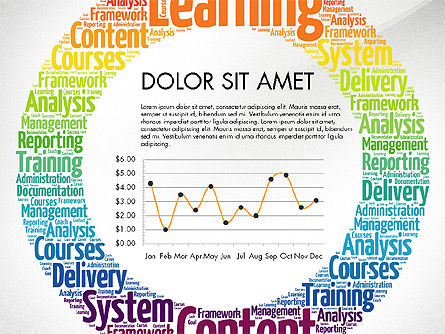 Learning Presentation Concept, Slide 5, 03212, Education Charts and Diagrams — PoweredTemplate.com