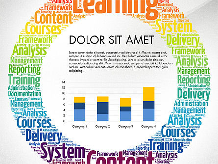 Learning Presentation Concept, Slide 6, 03212, Education Charts and Diagrams — PoweredTemplate.com