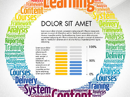Learning Presentation Concept, Slide 7, 03212, Education Charts and Diagrams — PoweredTemplate.com