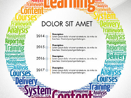 Learning Presentation Concept, Slide 8, 03212, Education Charts and Diagrams — PoweredTemplate.com