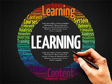 Learning Presentation Concept, Slide 9, 03212, Education Charts and Diagrams — PoweredTemplate.com