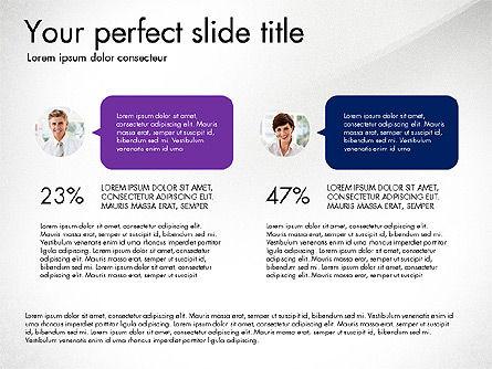 Communication Concept, Slide 4, 03213, Business Models — PoweredTemplate.com